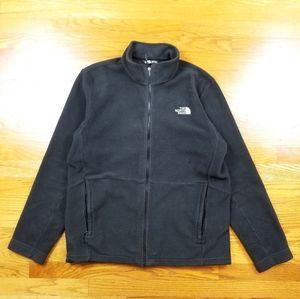 The North Face Black Fleece Sweater Zip Up Jacket